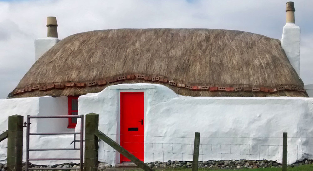 The Old Thatch Tiree